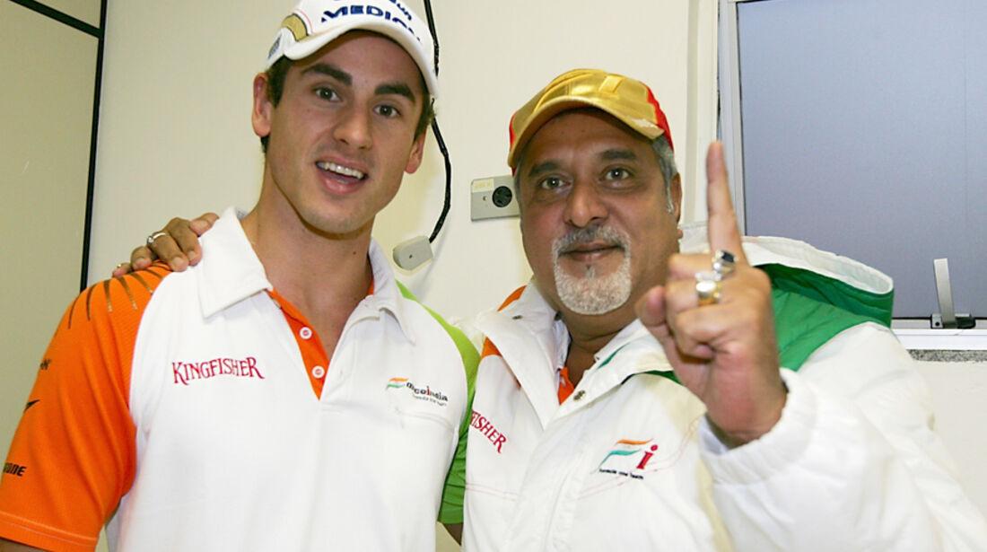 Adrian Sutil & Vijay Mallya