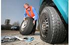 Ärgerliche Reifenpanne