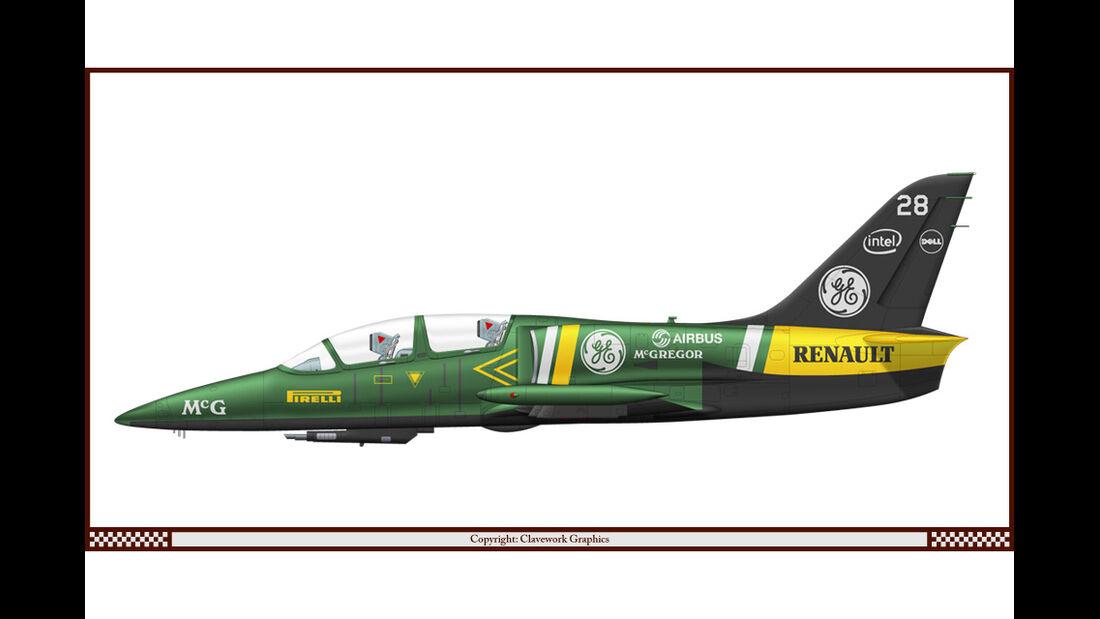 Aero L-39 - Caterham - Racing-Planes - 2015