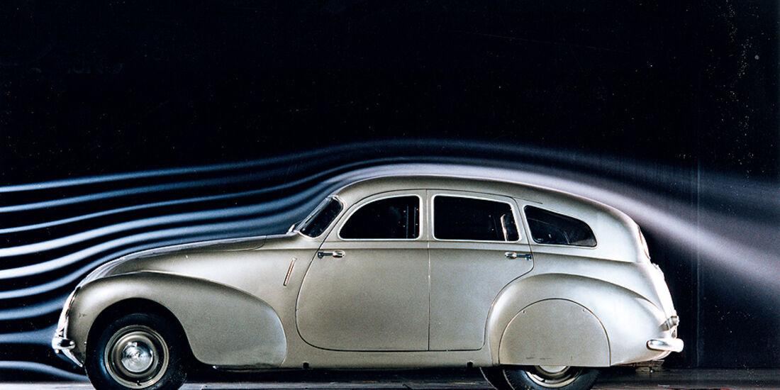 Aerodynamik Report, Kammheck-Auto