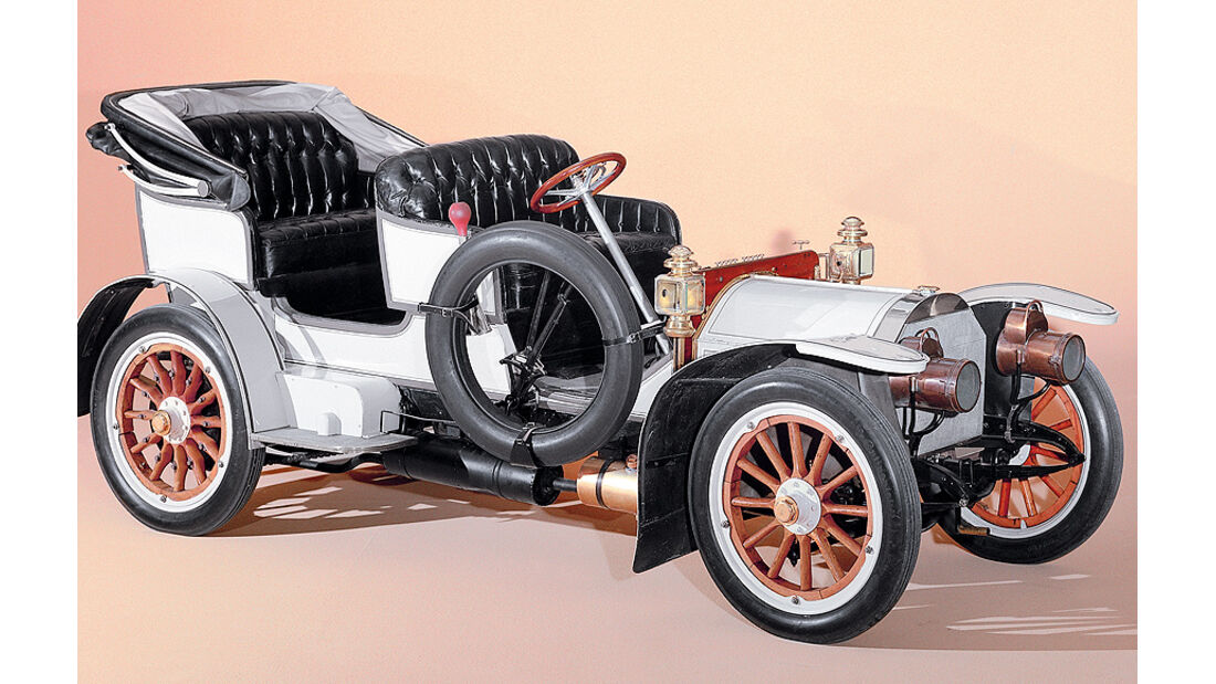 Aerodynamik Report, Mercedes Simplex