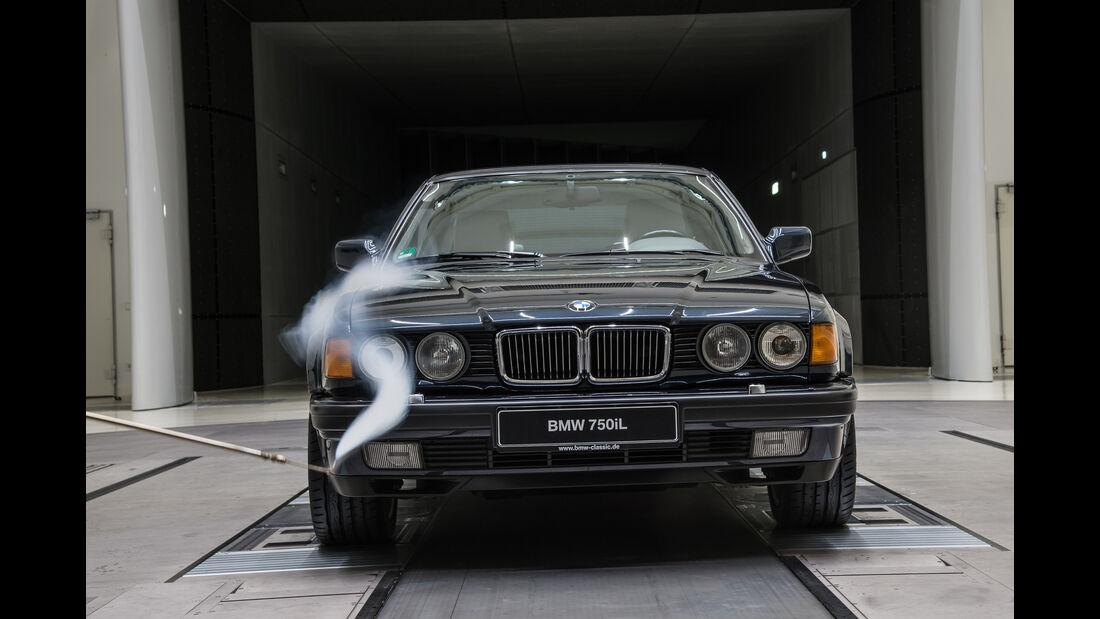 Aerodynamik, Windkanal, Impression, BMW