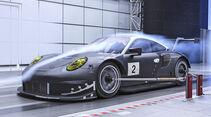 Aerodynamik bei Sportwagen, Porsche