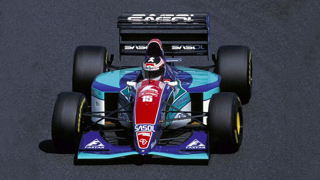 Aguri Suzuki - Jordan J194 Hart - Pazifik GP Aida 1994