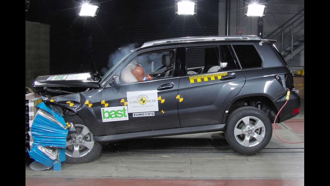 Airbag, Crashtest, Euro-NCAP-Test, Frontalaufprall