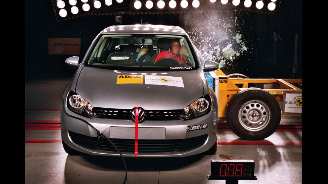 Airbag, Crashtest, Euro-NCAP-Test, Seitenaufprall