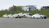 Airbag, Crashtest, Mercedes S-Klasse