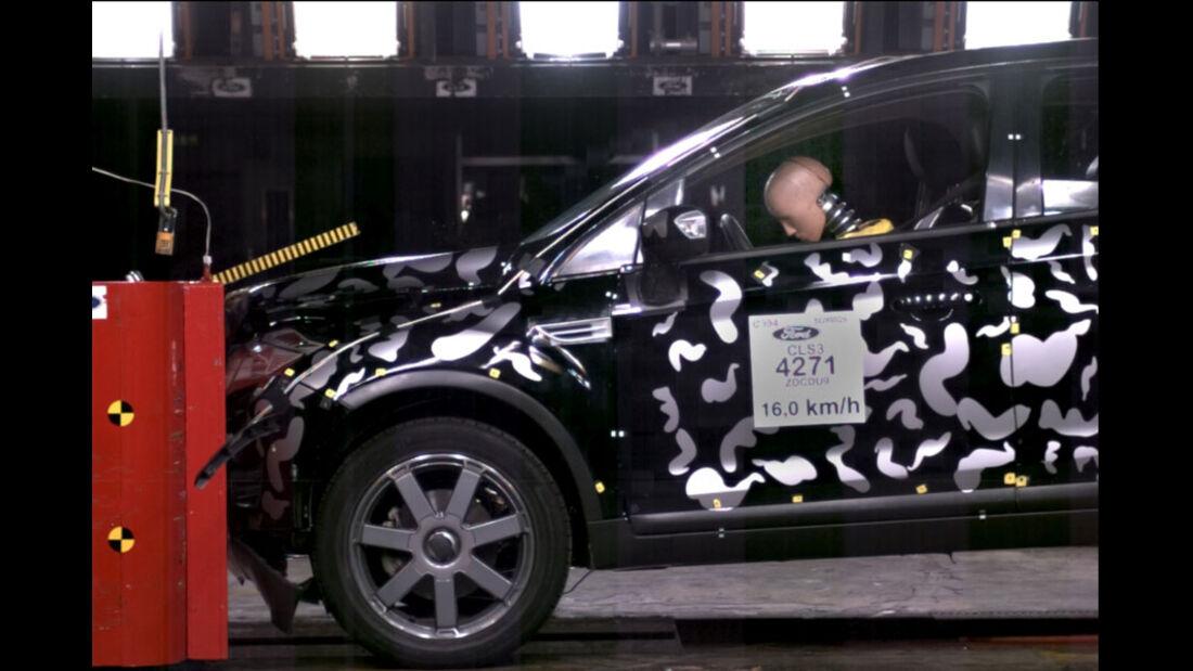 Airbag, Crashtest, Rückhaltesysteme