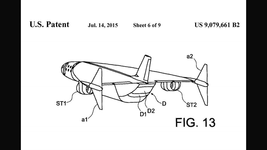 Airbus Überschall-Flugzeug, Hypersonic, Patent, YouTube