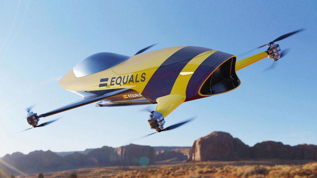 Airspeeder - Bemannte Renn-Drohnen - 2019