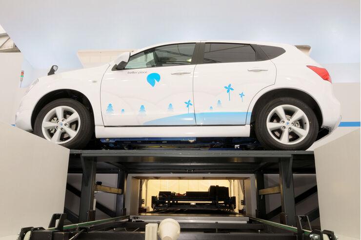 akku wechselstation f r elektroautos auto motor und sport. Black Bedroom Furniture Sets. Home Design Ideas