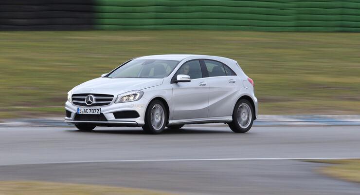Aktion Besser Fahren 2013 - Mercedes A 250 Sport