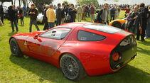 Aktueller Alfa Romeo TZ3 Corsa Zagato auf Basis des 8C Competizione bei der Villa Erba Villa d'Este 2010.