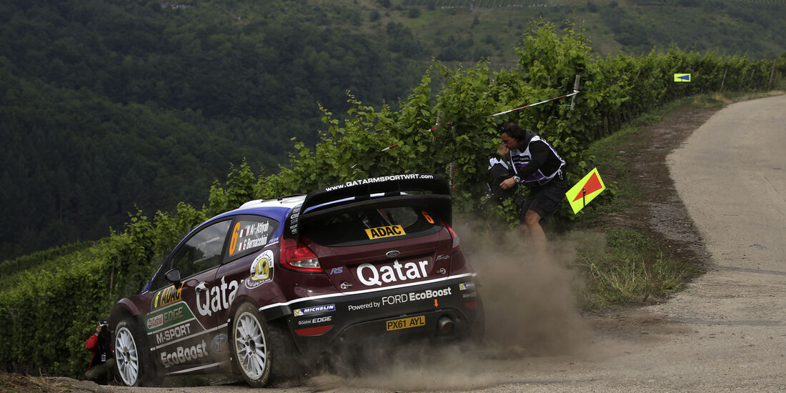 Al Attiyah WRC Rallye Deutschland 2013