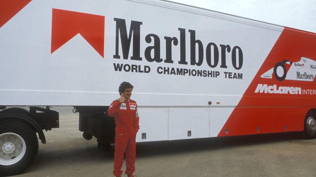 Alain Prost 1985 McLaren