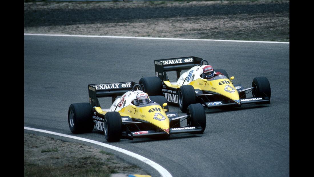 Alain Prost & Eddie Cheever