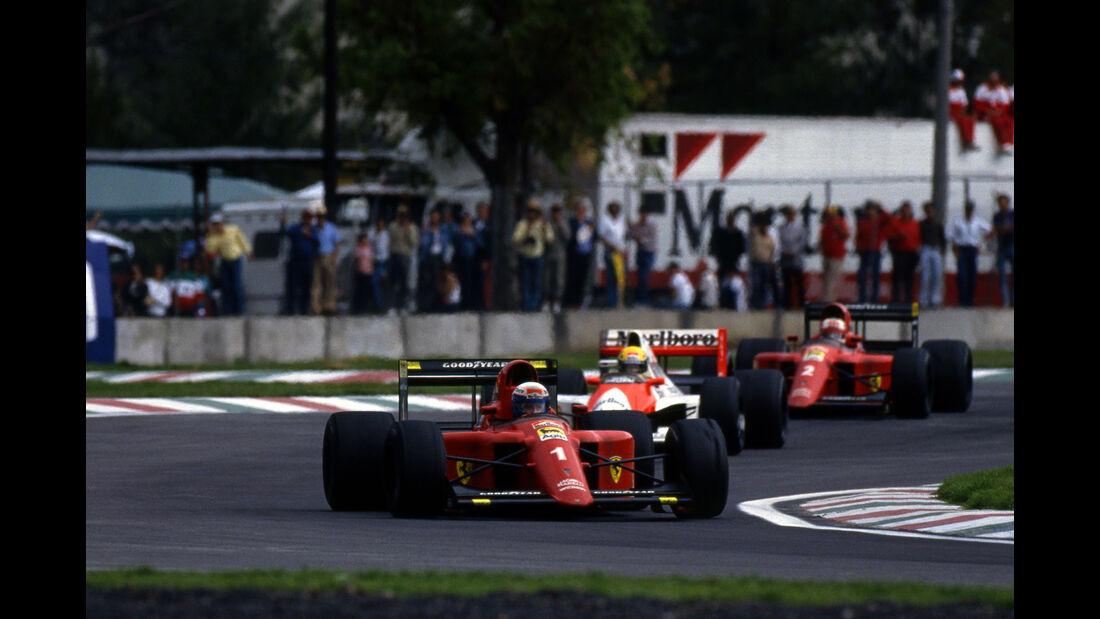 Alain Prost - Ferrari 641 - GP Mexiko 1990