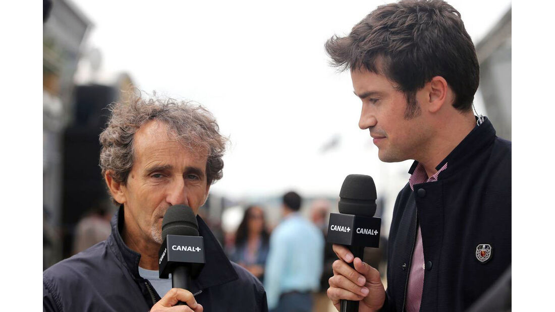 Alain Prost - Formel 1 - GP England - 29. Juni 2013