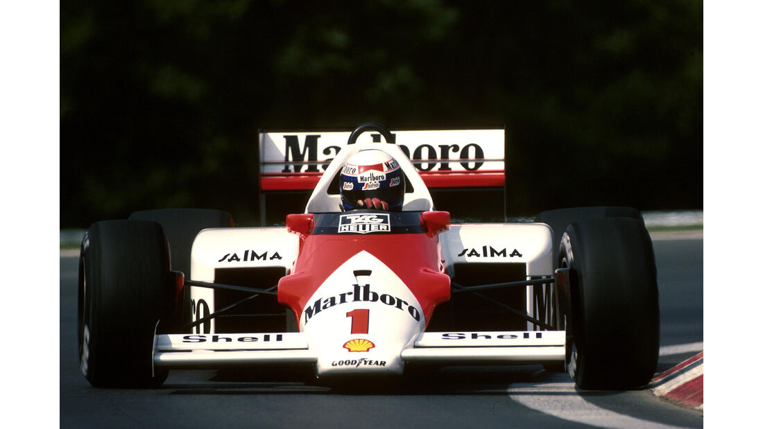 Alain Prost - Formel 1 - GP Ungarn 1986