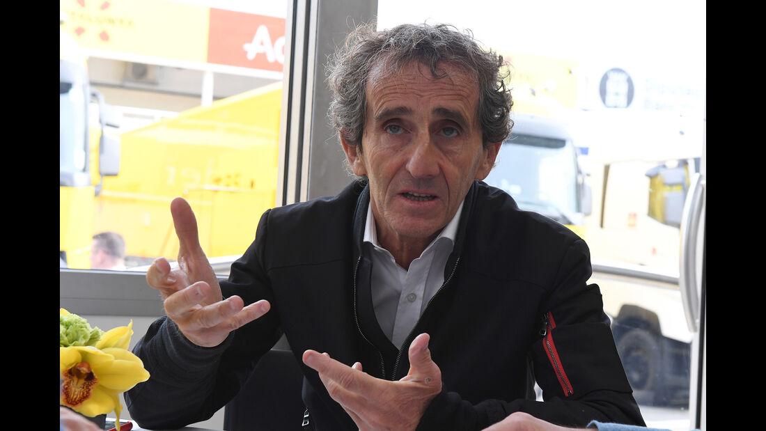 Alain Prost - Formel 1 - Test - Barcelona - 28. Februar 2017