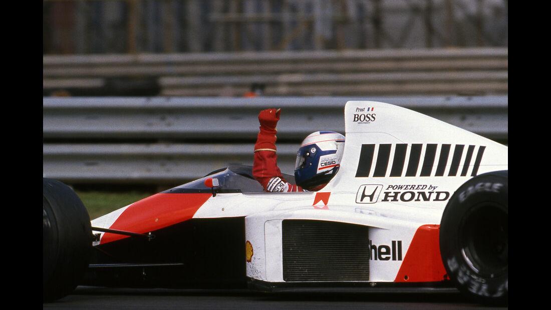 Alain Prost - GP England - F1 - 1989