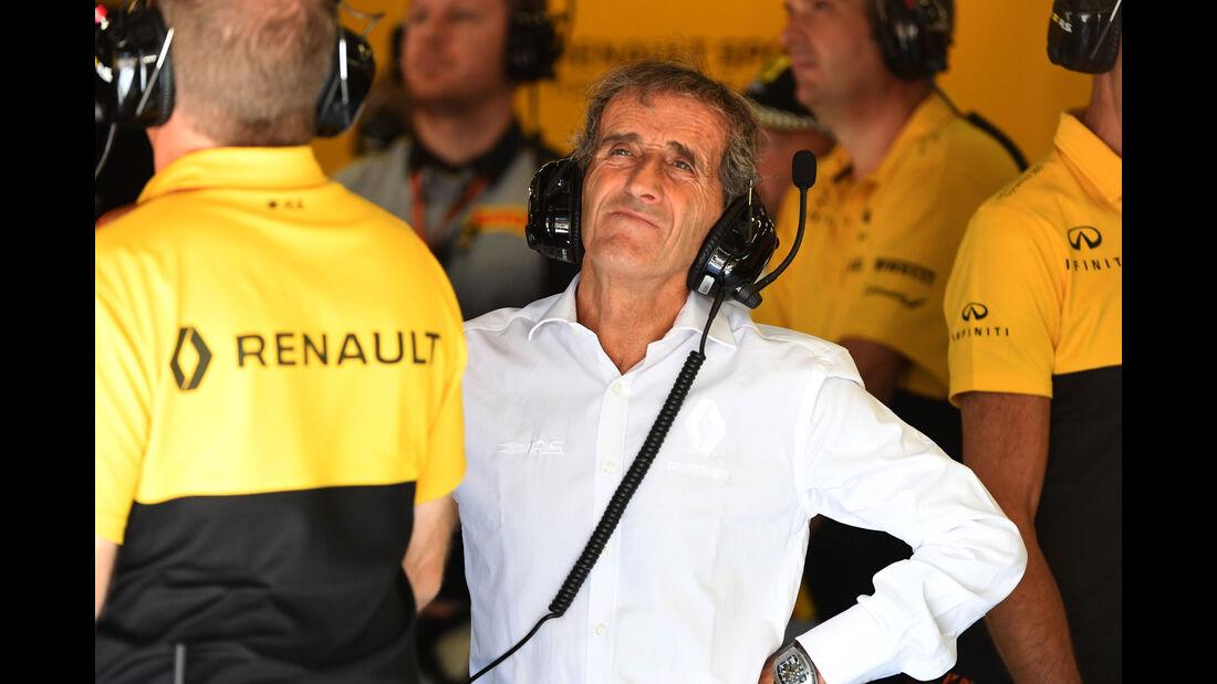 Alain Prost - GP Österreich - Spielberg - Formel 1 - Freitag - 7.7.2017