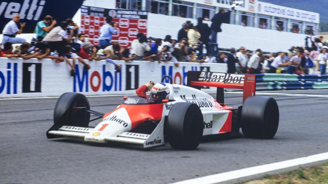 Alain Prost - GP Portugal 1987