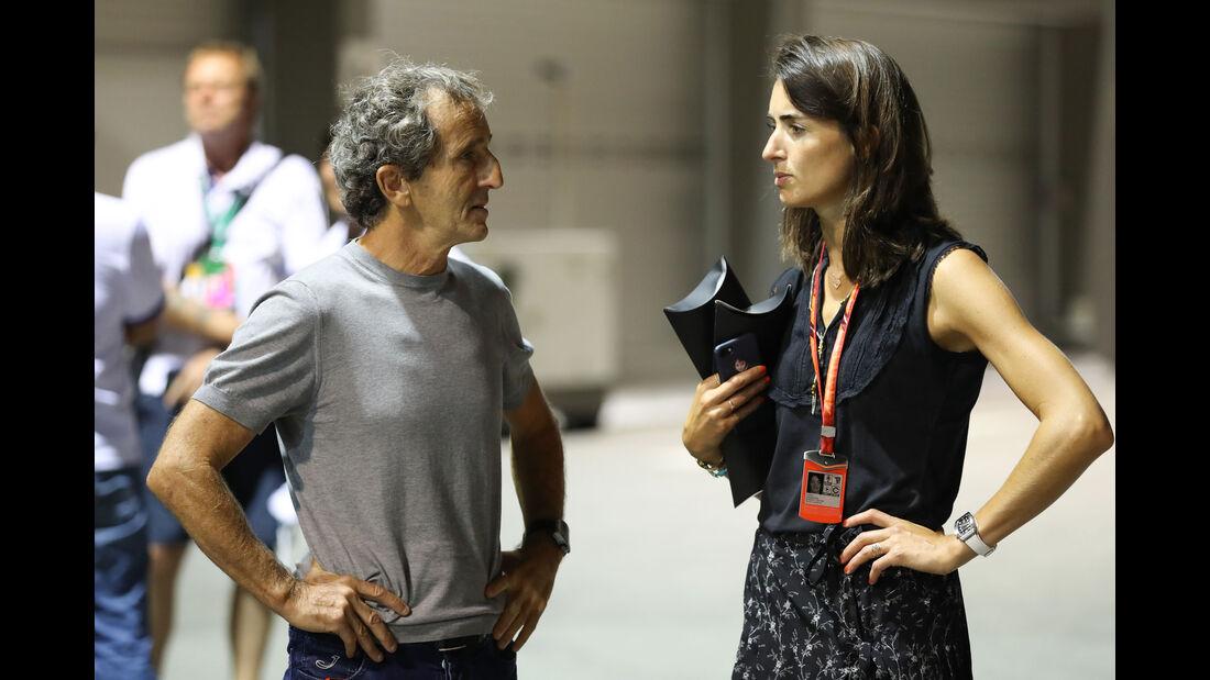 Alain Prost - GP Singapur - Formel 1 - Donnerstag - 14.9.2017