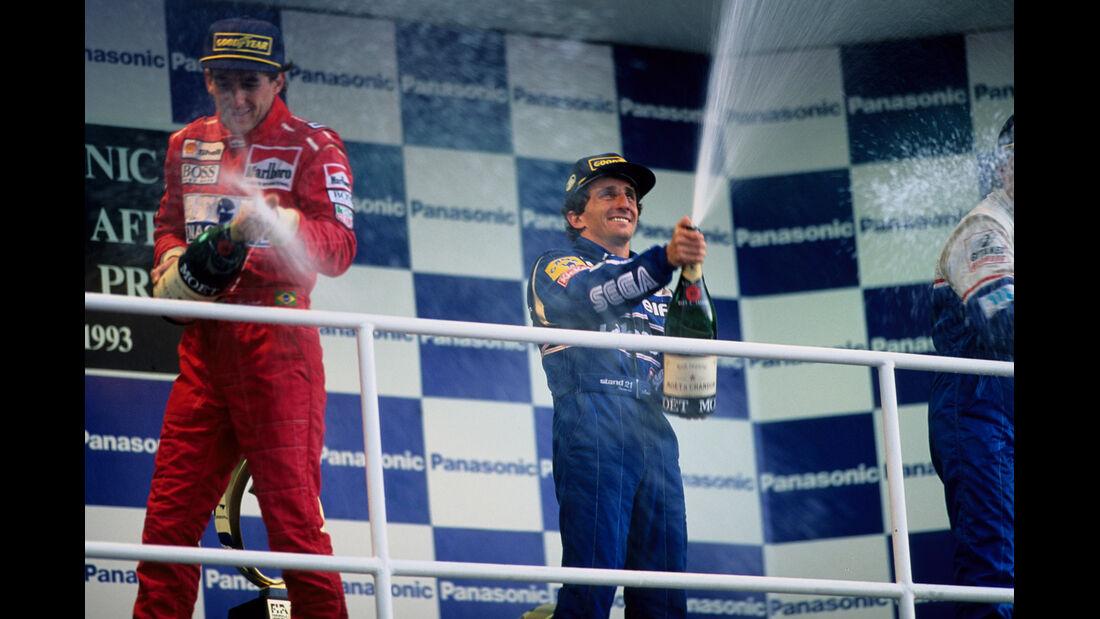 Alain Prost GP Südafrika 1993