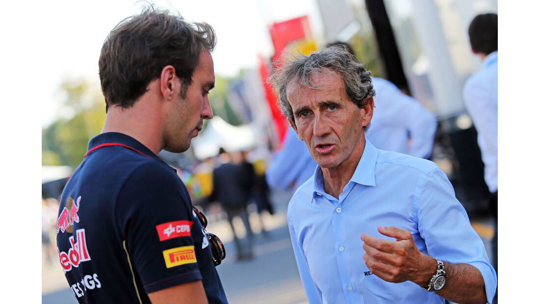 Alain Prost - Jean-Eric Vergne - Formel 1 - GP Italien - 6. September 2014