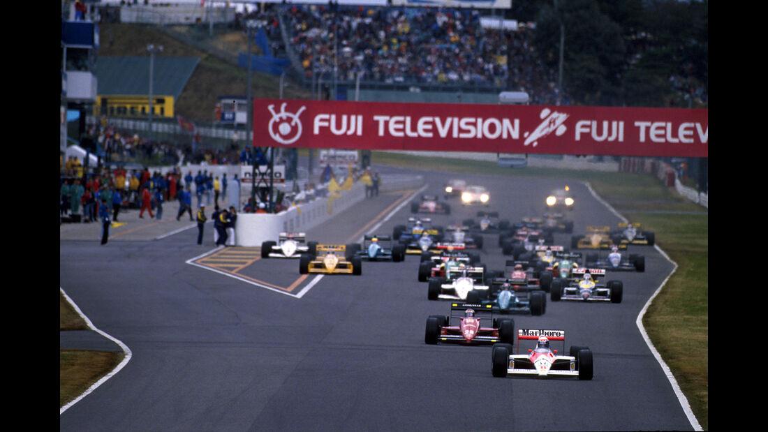 Alain Prost - McLaren MP4/4 - GP Japan 1988 - Start