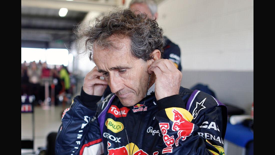 Alain Prost - Red Bull - 2014