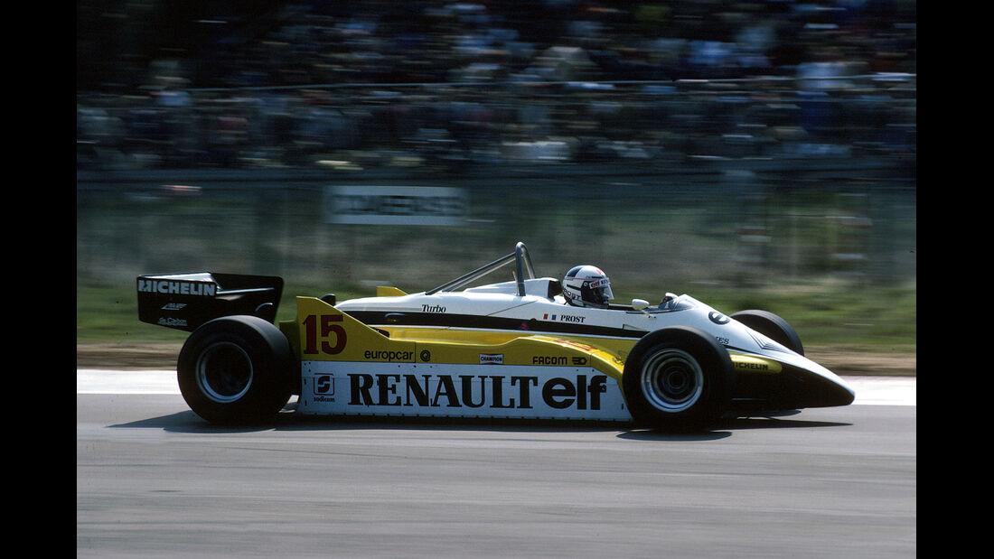 Alain Prost Renault 1982