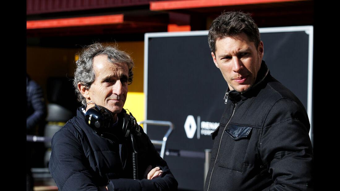Alain Prost - Renault - F1-Test - Barcelona - Tag 5 - 6. März 2018