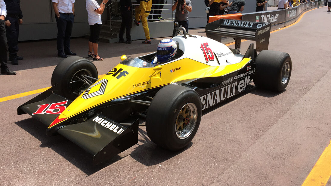 Alain Prost - Renault - Formel 1 - GP Monaco - 26. Mai 2017