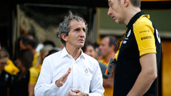 Alain Prost - Renault - GP Abu Dhabi 2019