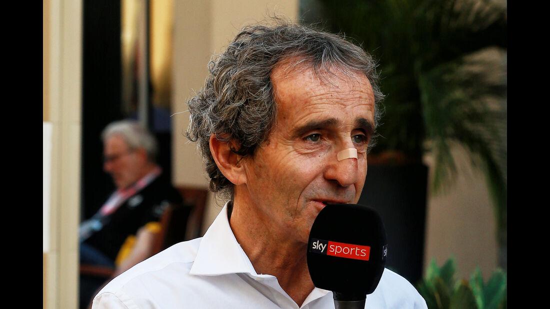 Alain Prost - Renault - GP Abu Dhabi - 25. November 2017