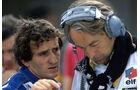 Alain Prost Renault  Larousse 1982