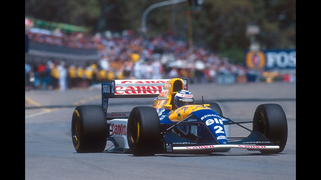 Alain Prost - Williams FW15C - GP Australien 1993 - Adelaide