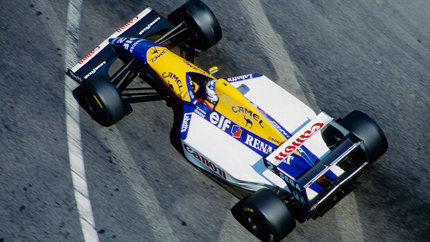 Alain Prost - Williams-Renault FW15C - GP Monaco 1993