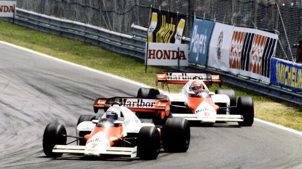 Alain Prost vs. Niki Lauda - Formel 1 - 1984