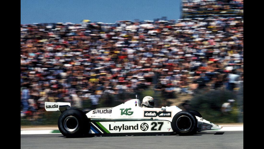 Alan Jones - Williams FW07B - Jarama 1980