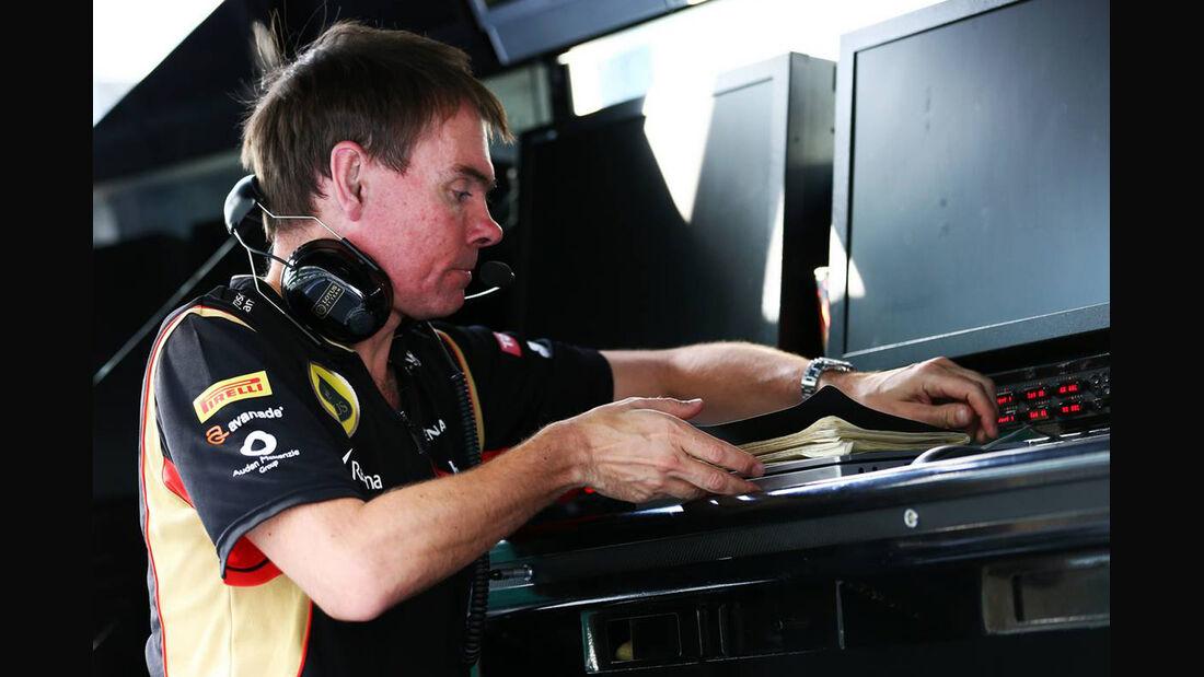 Alan Permane - Lotus - Formel 1 - GP Abu Dhabi - 02. November 2013
