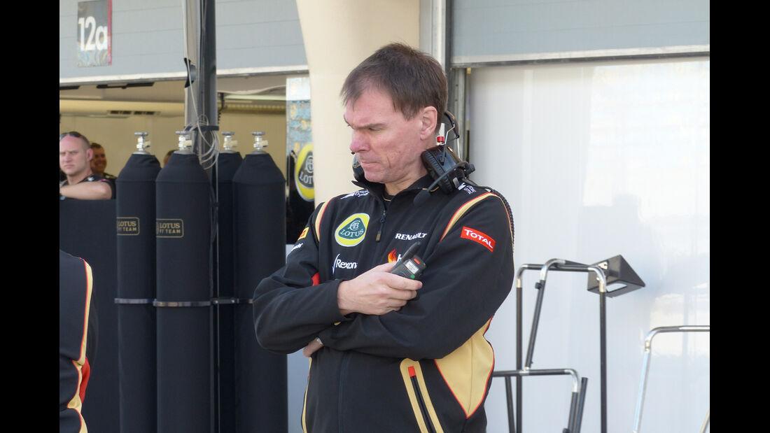 Alan Permane - Lotus - Formel 1 - Test - Bahrain - 19. Februar 2014