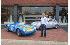 Albert Westermann vor der Fabrik in Lichtenvoorde, State of Art, Porsche