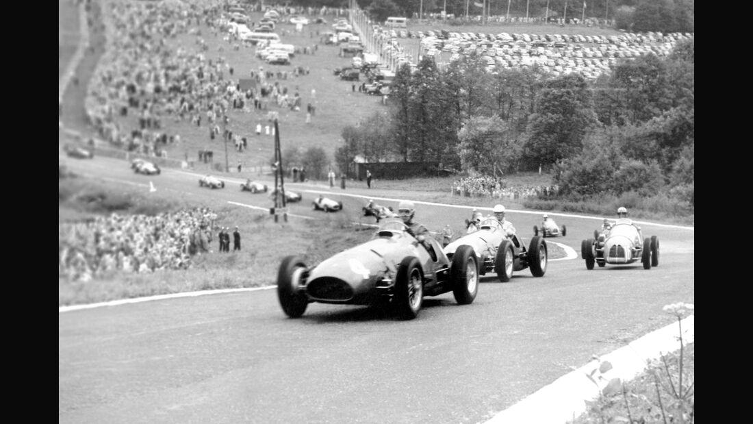 Alberto Ascari - Ferrari 500 - Belgien 1952