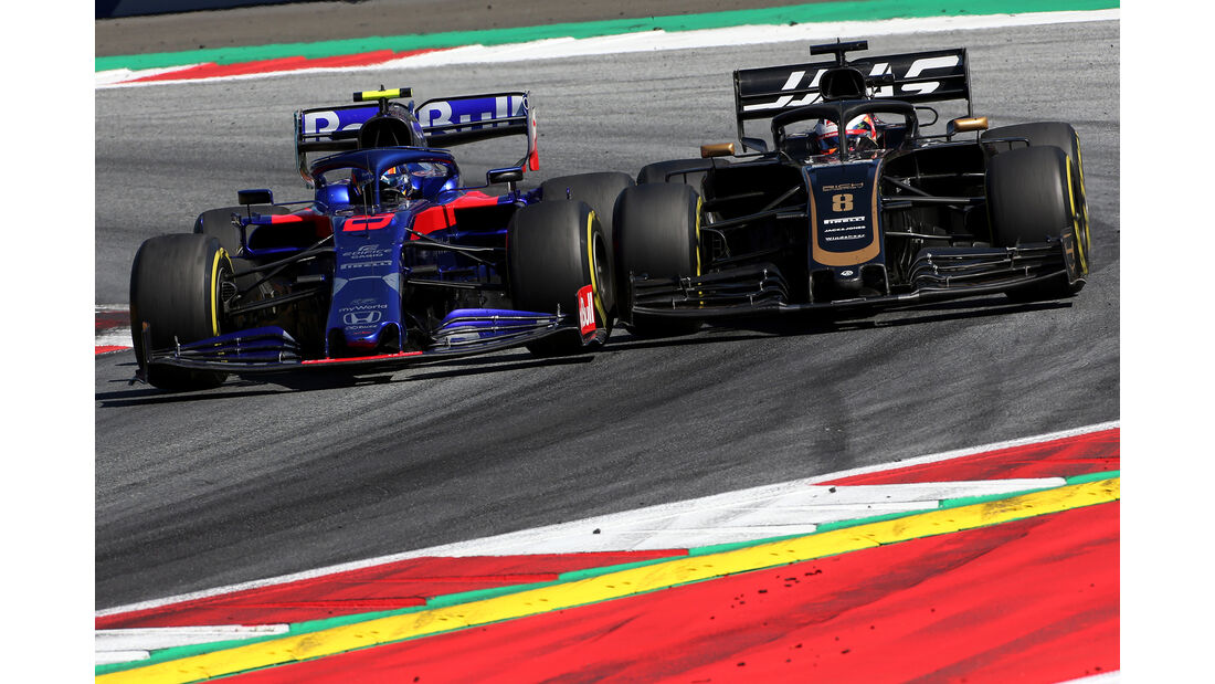 Albon vs. Grosjean - Formel 1 - GP Österreich - Spielberg - 30. Juni 2019