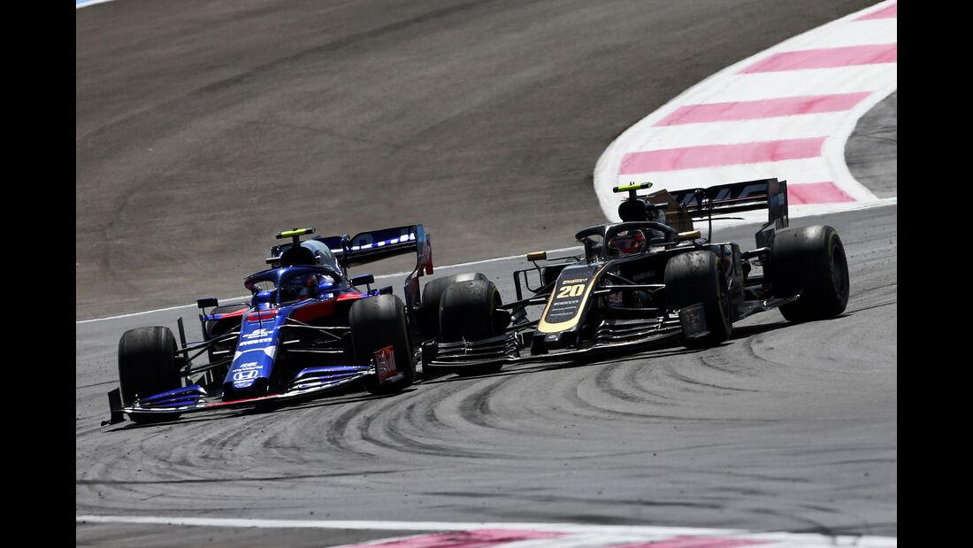 Albon vs. Magnussen - Formel 1 - GP Frankreich 2019