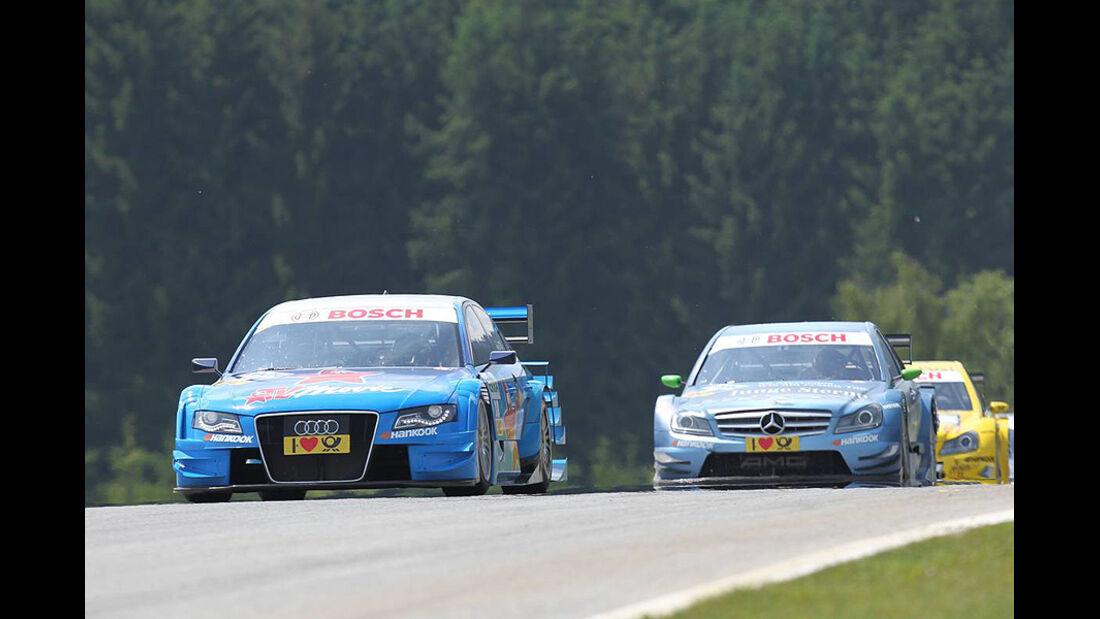 Albuquerque, Audi A4 DTM, van der Zande, Mercedes C-Klasse DTM, DTM, Spielberg, 2011