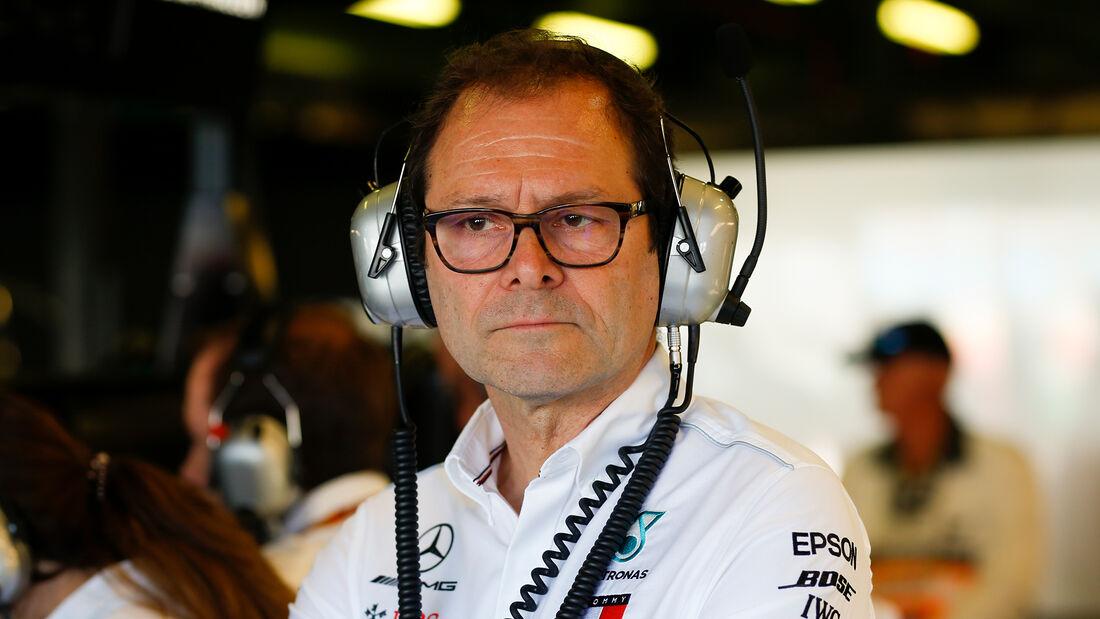 Aldo Costa - Mercedes AMG F1